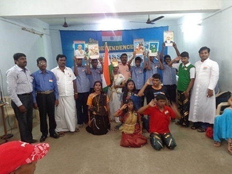 INDEPENDENCE DAY CELEBRATION ABLED ADULTS